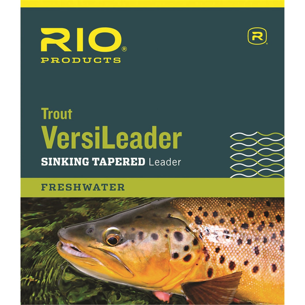 Rio Trout Versileader Sinking Tapered Leader