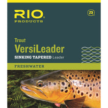 Load image into Gallery viewer, Rio Trout Versileaders Sinking Tapered Leader