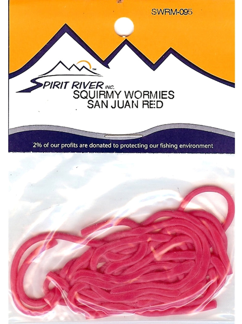 Spirit River Squirmy Wormies