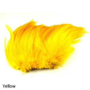 Wapsi Neck Hackle Strung, Yellow