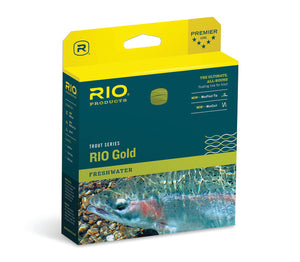 RIO Gold THE ULTIMATE, ALL-ROUND FLOATING LINE FOR TROUT.