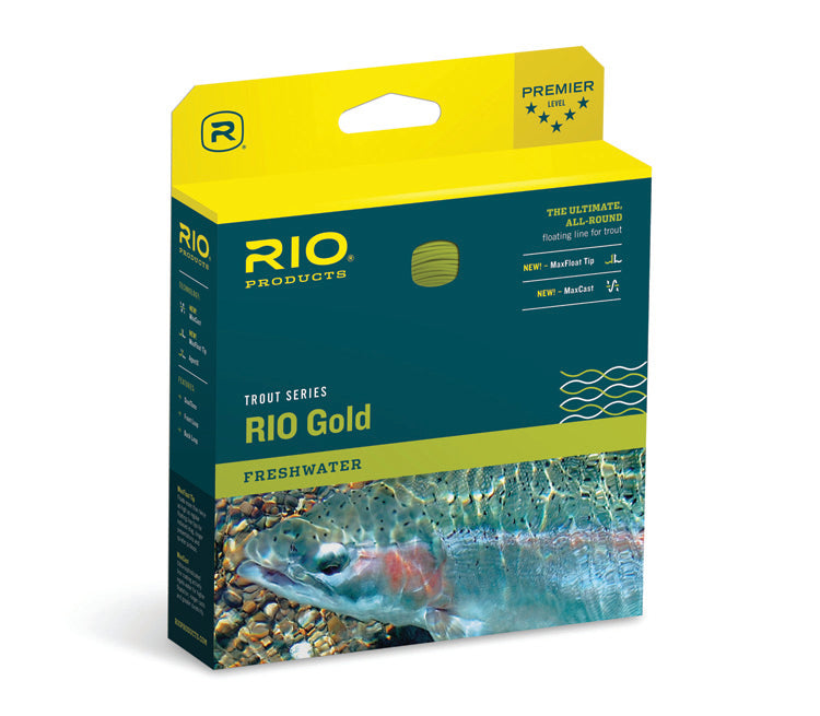 RIO Gold Trout Series All-Around Floating Fly Line