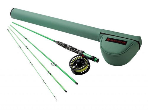 Redington Minnow Fly Rod 4 Piece Combo