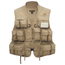 Load image into Gallery viewer, JIG 24 POCKET CONVERTIBLE FISHING VEST