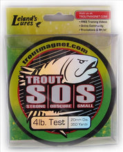 Load image into Gallery viewer, Lelands Lures Trout SOS Line