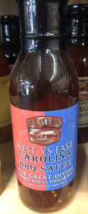 West VS East Carolina BBQ Sauce