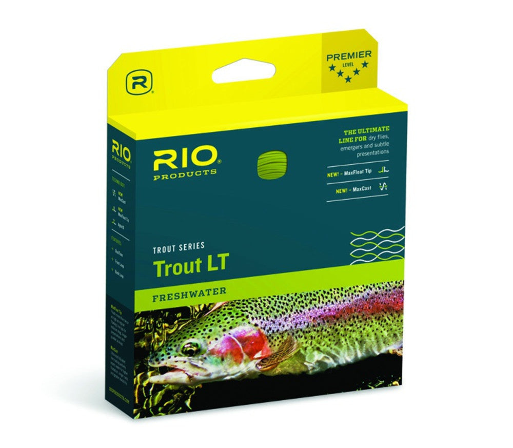 Rio Trout Series Trout LT Freshwater Floating Double Taper Fly Line