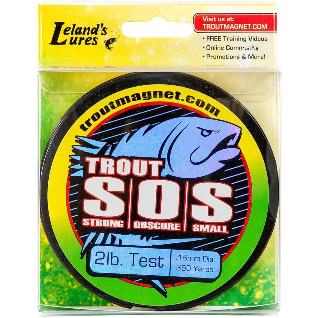 Lelands Lures Trout SOS Line