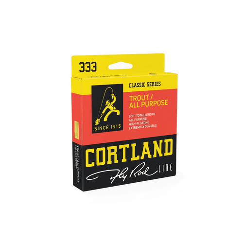 Cortland Classic Series 333 Trout/ALL Purpose Fly Line