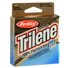 Load image into Gallery viewer, Berkley Trilene Ice 100% Fluorocarbon Clear Line