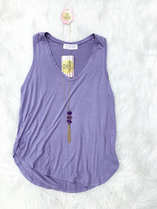 Purple Every Day Tank - Faye Baby Boutique