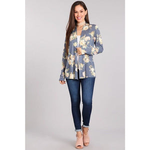 Floral Cardigan - Faye Baby Boutique