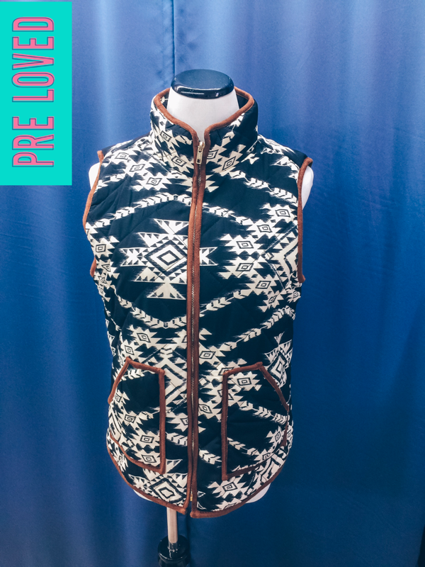 Pre Loved Small Aztec Vest