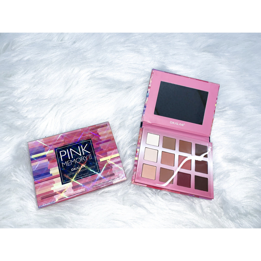 Pink Eyeshadow Palate - Faye Baby Boutique