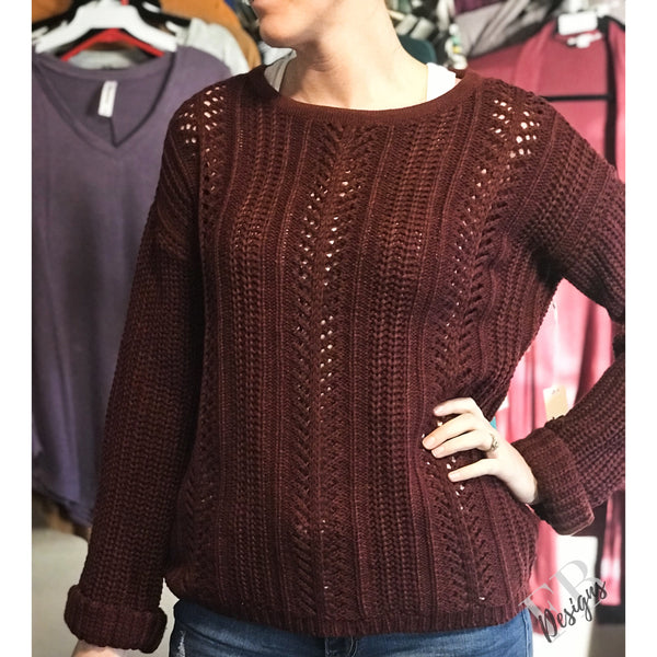 Not Your Basic Sweater - Faye Baby Boutique