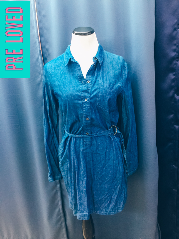 Pre Loved Small Denim Tunic