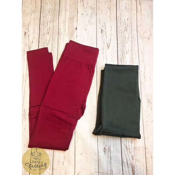 Fleece Leggings - Faye Baby Boutique