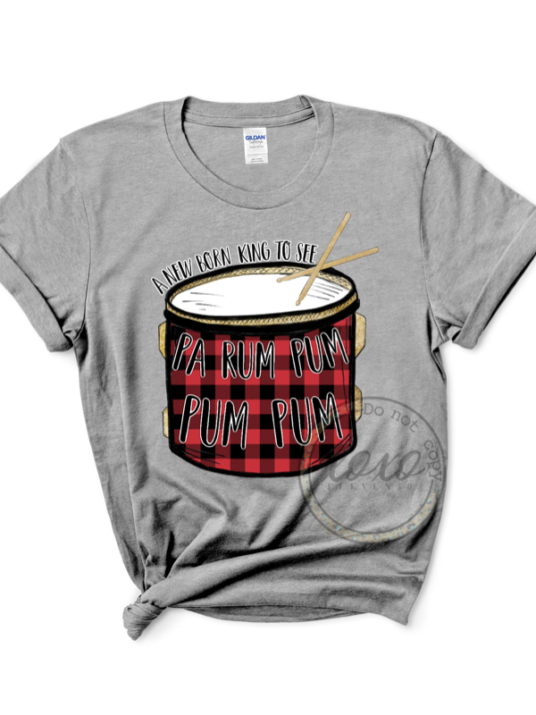 The Little Drummer Boy Graphic Tee