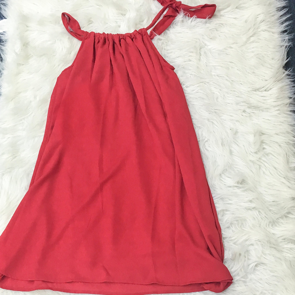Small Tied Halter Dress