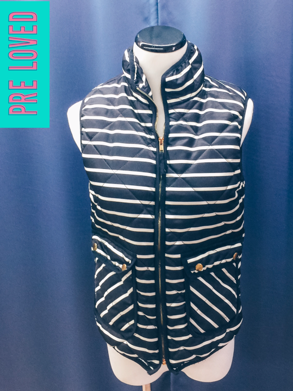 Pre Loved Small Striped Vest