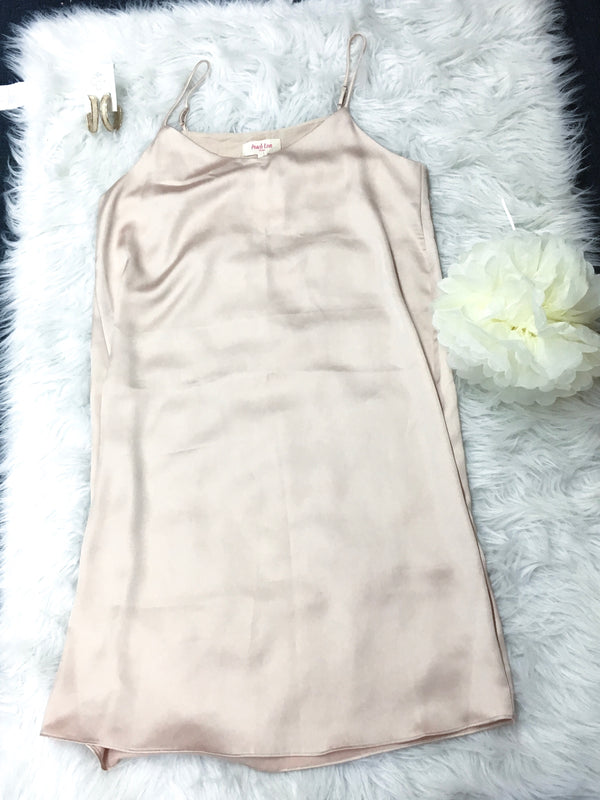 Large Silk Midi Dress