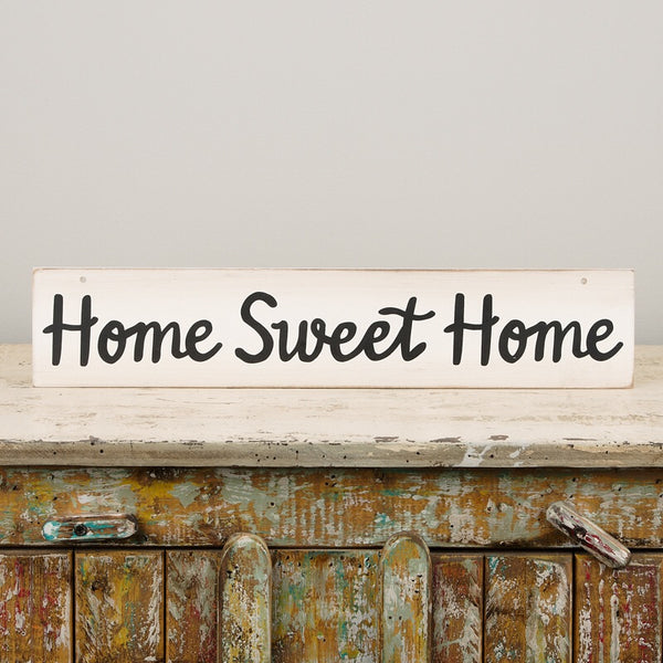 Happy Day/Home Sweet Home Reversible Sign - Faye Baby Boutique