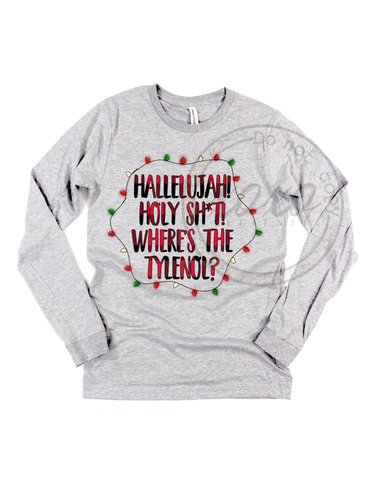 Where's The Tylenol Christmas Vacation Graphic Tee