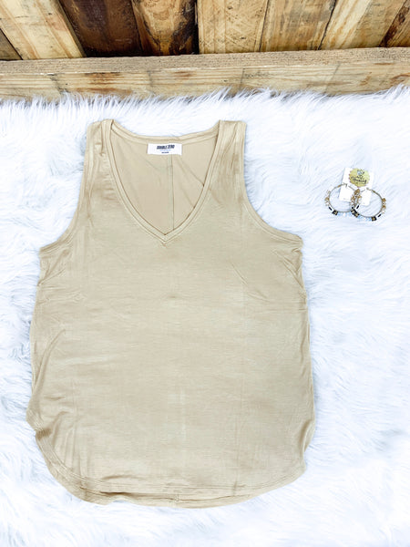 Pale Mango Every Day Tank - Faye Baby Boutique