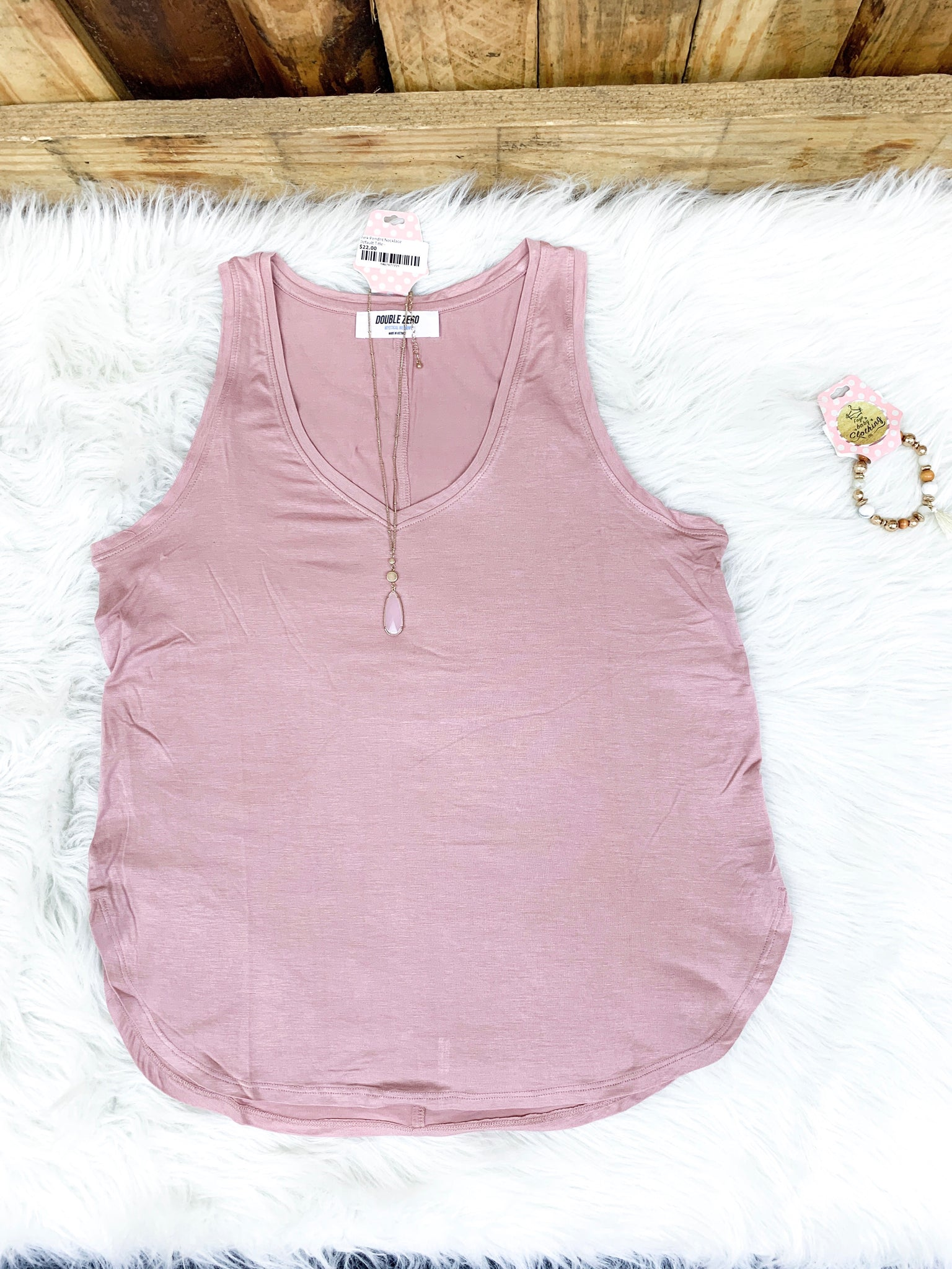 Rose Every Day Tank - Faye Baby Boutique
