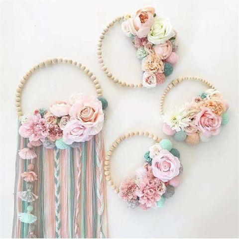 Flower Tassel Garland