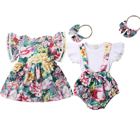 Matchy Match Sister Multi Floral