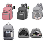 City Limit Nappy Bag Backpack Pink