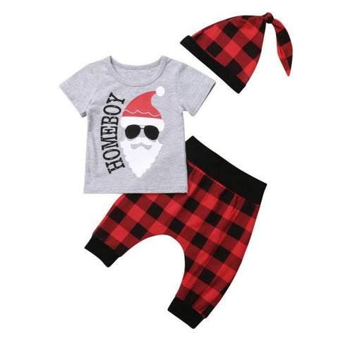 Homeboy Santa Set Short Sleeve