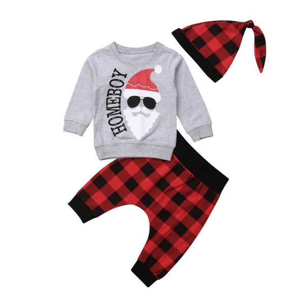 Homeboy Santa Set Long Sleeve