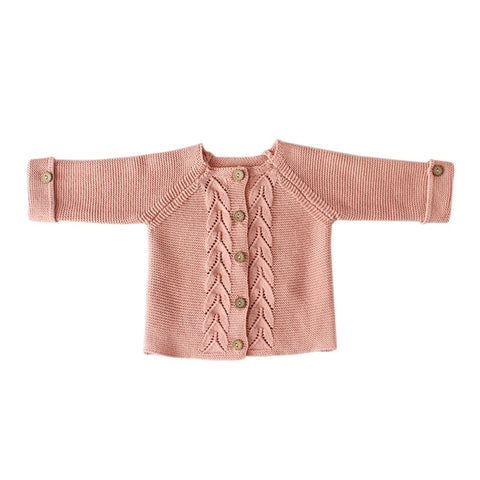 Kingdom Knitted Cardigan Pink