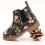 Chicago Boots Black Floral