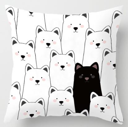 Bear/Dog/Penguin Cushion Cover
