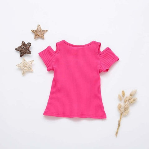 Candy Tshirt Hot Pink