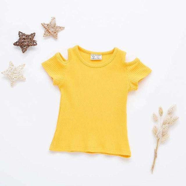 Candy Tshirt Yellow