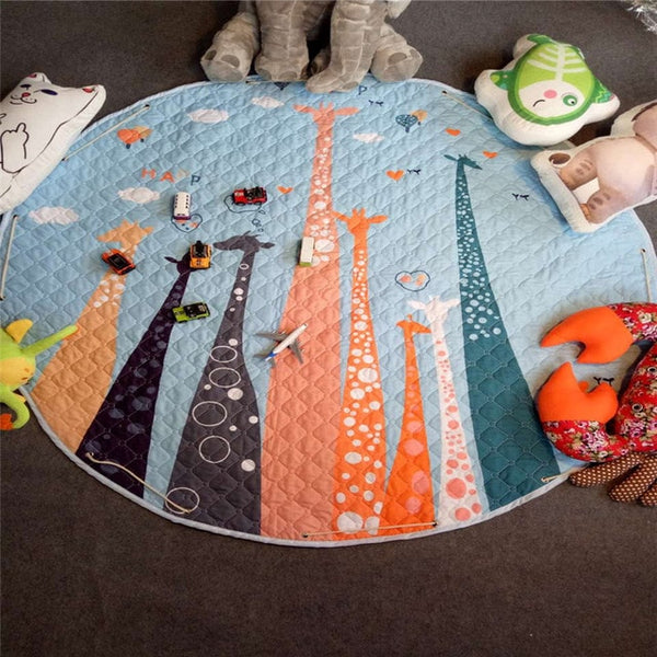 Play Mat with Storage Bag Giraffe