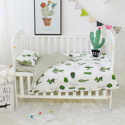 Pepper Cot Sets 3 piece (various patterns)