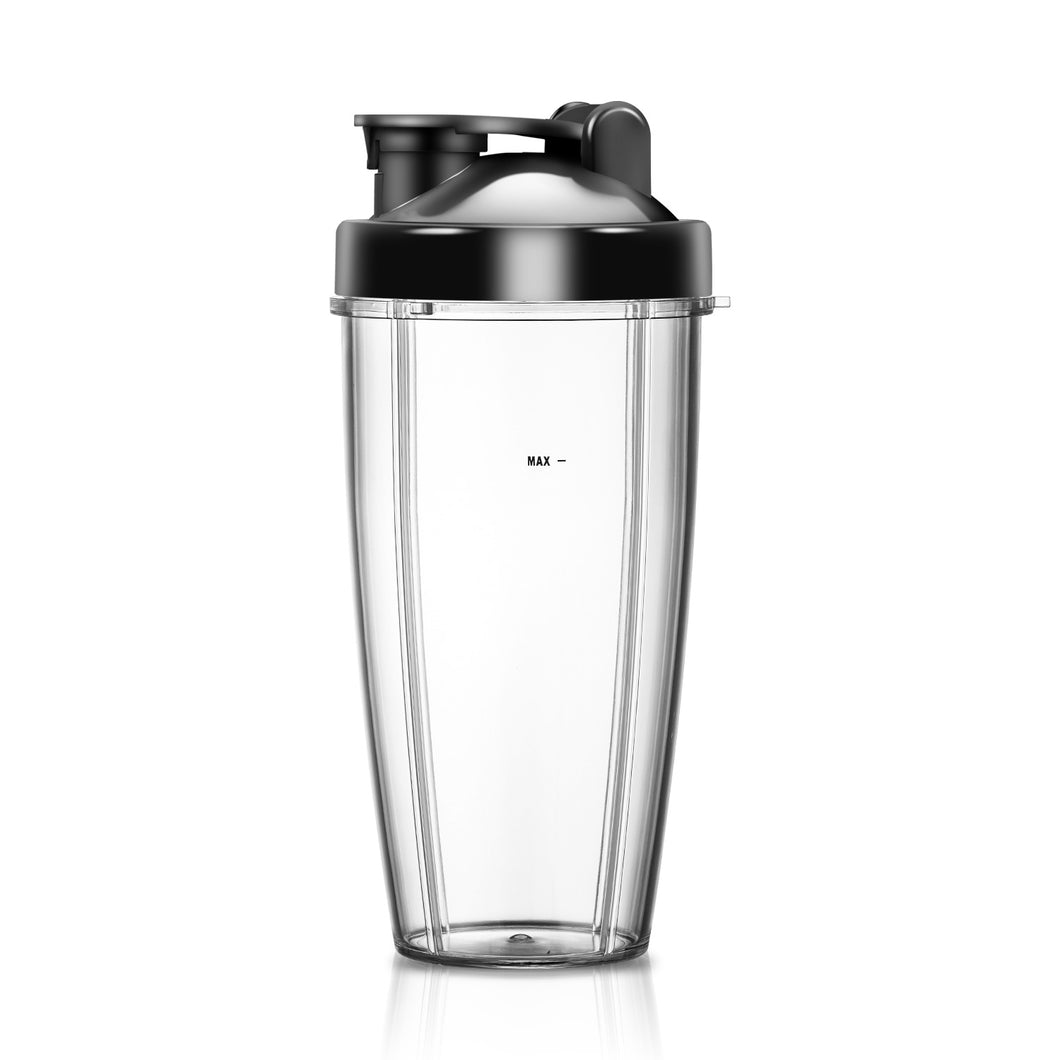 24 oz BPA Free Portable Sports Bottle Cup with Travel Lid Fits for La Reveuse Blender 1803S 1803G