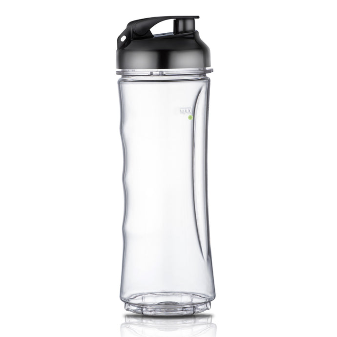 18 oz BPA Free Portable Sports Bottle Cup with Travel Lid Fits La Reveuse 300w Blender