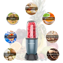 La Reveuse Personal Size Blender 250 Watts Power for Shakes Smoothies Seasonings Sauces with 2 Pieces 16 oz Mugs,1 Piece Small Cup