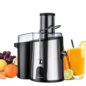 Centrifugal Juicer 750 Watts Powerful 3 Inches Wide Mouth for Whole Fruits Vegetables