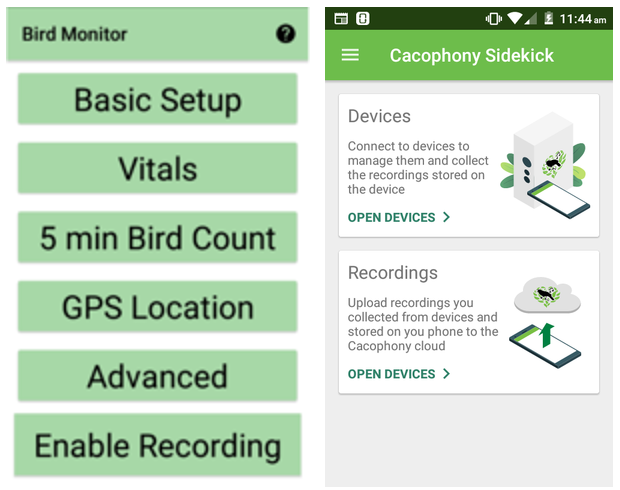 Updated Bird Monitor and Sidekick apps.