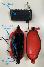 Load image into Gallery viewer, Bird monitor with solar power bank