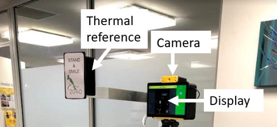 Thermal Camera to detect elevated body temperature