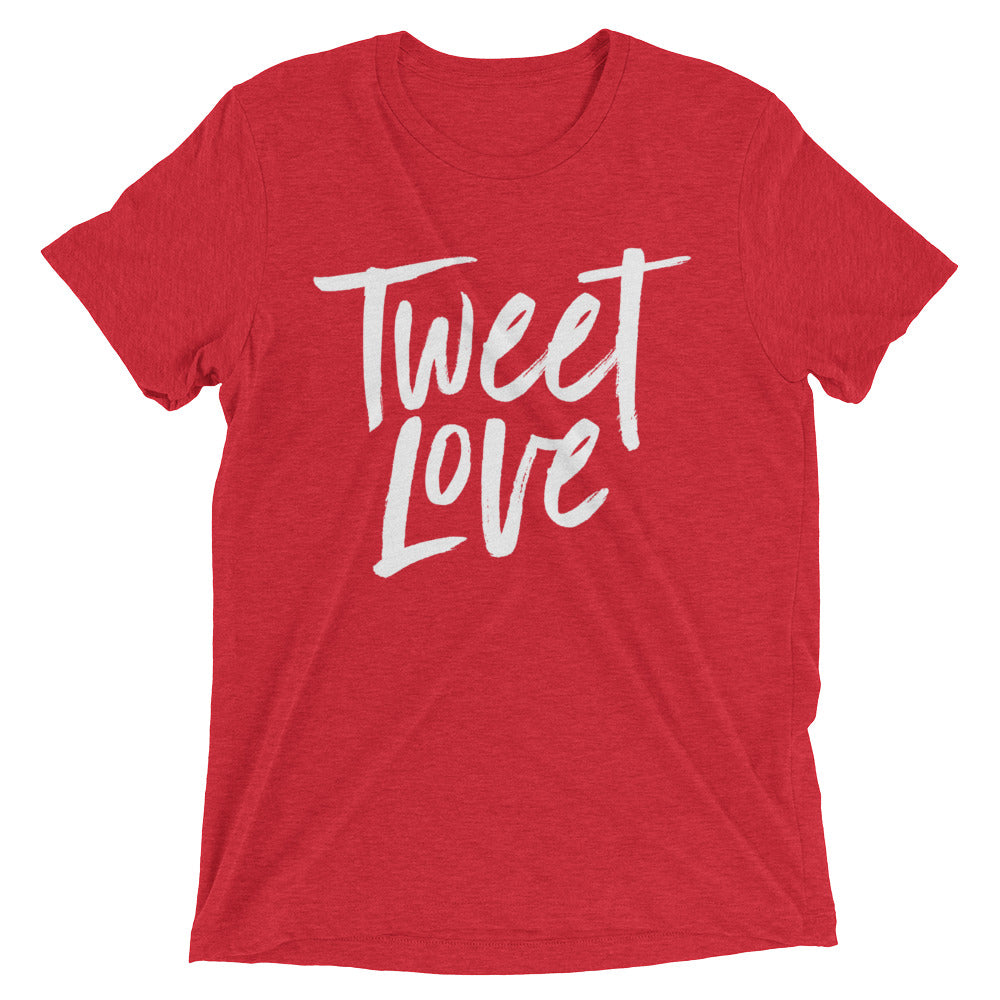 Tweet Love Logo T-Shirt: Red