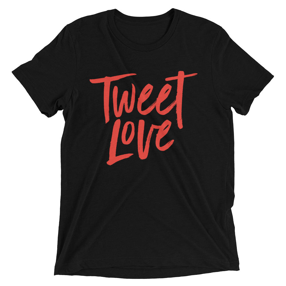 Tweet Love Logo T-Shirt: Black